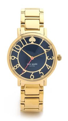 love this navy #blue faced Kate Spade watch #katespade http://rstyle.me/n/irk6dr9te