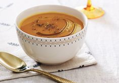 A butternut squash soup that's easy enough for any home cook