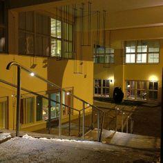 Handrail Lighting at Telefonplan, Stockholm.