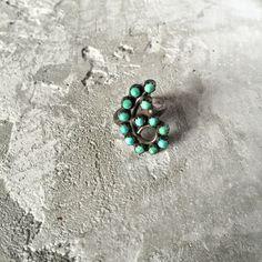 Vintage Zuni Fern Turquoise Silver Ring by LoveandArrow on Etsy https://www.etsy.com/listing/236532481/vintage-zuni-fern-turquoise-silver-ring