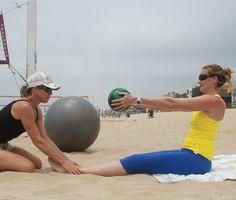 Beach Volleyball Gold Medalist Kerri Walsh Shares Her Abs Workout