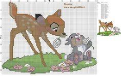 sandylandya@outlook.es  Schema punto croce Bambi e Tamburino 110x86 28 colori.jpg
