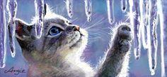 drawn kittie
