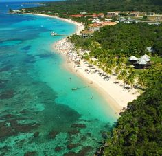 Roatan, Honduras. Was there just last year and it's just as beautiful as it looks