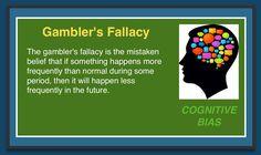 Cognitive Bias - Gambler's Fallacy