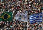 Cerimônia de passagem da tocha para o Brasil - UOL Olimpíadas