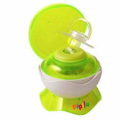 Portable pacifier sterilizer. Perfect baby shower gift