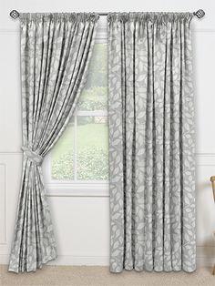 Toscana Pearl Grey Curtains from Curtains 2go