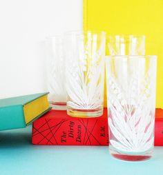 Vintage Cocktail Glass Set