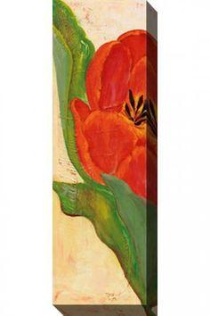 """Home Decorators Tulip II Canvas Wall Art (16"""" x 48""""   indoor/outdoor)"""