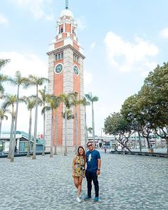 Hong Kong Travel Itinerary: Part 3 Hong Kong, Tower, Clock, Building, Summer, Travel, Watch, Rook, Summer Time