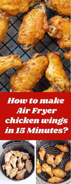 Air-Fryer Recipes - Easy Air Fryer Chicken Wings - Hey, there! Right now I will share about super incredible Air-Fryer Recipe that my landlord really love it ^^ You Must Click Pin To Learn Specific Information ^^ Hope you like it . Air Fryer Recipes Chips, Air Fryer Recipes Potatoes, Air Frier Recipes, Air Fryer Chips, Air Fryer Recipes Breakfast, Air Fryer Dinner Recipes, Air Fryer Recipes Easy, Airfryer Breakfast Recipes, Power Air Fryer Recipes