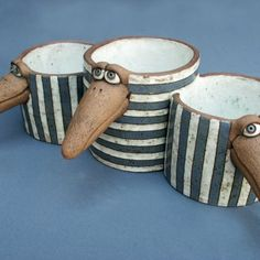 Ceramic Pottery, Pottery Art, Pottery Animals, Coin Purse, Pajama Outfits, Sculpture, Inspiration, Accessories, Gallery