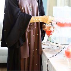 IG: Marash_UAE || IG: Beautiifulinblack || Modern Abaya Fashion