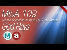 Welcome to this MtoA (Maya to Arnold) 106 course. In this video I will talk about practical light scattering in Autodesk Maya 2017 and the new integrated Mto...
