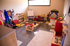New Counseling Clinic Opens with Wing Dedicated to Play Therapy. A variety of toys that encourage children to communicate experiences and emotions are available in the play therapy suites.