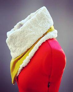 😍😍 #neckwarmer #winterfashion #dyi #fluffy #cuteandfluffy #yellow #stuffido #thingsilove #presents