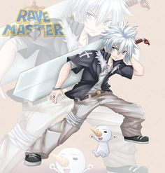 Rave Master: Haru Glory by ionditol on DeviantArt Rave Master, Cut Animals, Anime Fight, Sweet Pic, Fairy Tail Anime, Pictures Of People, Manga Comics, Spiderman, Memes