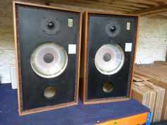 A Pair of Rogers LS5/8 Monitoring Loudspeakers Ex BBC OB | eBay