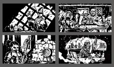 Some of the images featured in the latest Darkest Dungeon update, with new town events! Darkest Dungeon, Fantasy Creatures, Memes, Castle, Fan Art, My Favorite Things, Drawings, Artist, Darkness