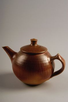 https://flic.kr/p/aerxva | Cary Hulin | Untitled teapot, 2000; purchased in Big Praire, Ohio; earthenware; Gift of American Ceramic Society Collection 2004.2.0071