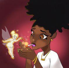 A lil blunt ya know Black Love Art, Black Girl Art, Black Girl Magic, Art Girl, Black Couple Art, Cartoon Kunst, Cartoon Art, Dope Kunst, Arte Black