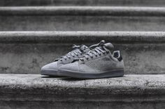 adidas's iconic Stan Smith has just been dropped off in a new solid grey colorway.