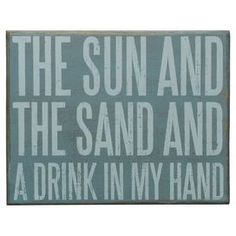 Sun & Sand Wall Decor