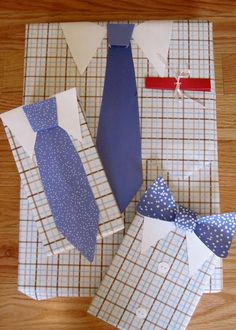 Gift Wrap for Dad's Day .. #fathersday