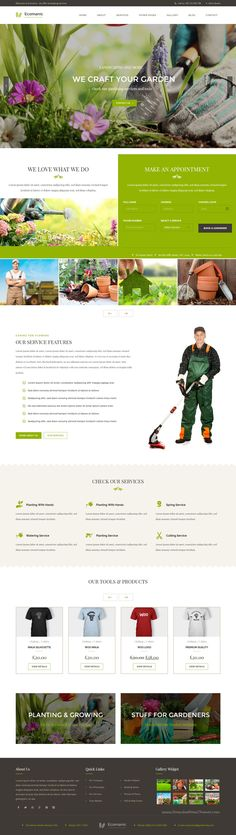 Ecomanic is clean and modern design 3 in 1 premium #WordPress Theme for Gardening, #Lawn Care, #Florists and Landscaping business website download now➯ https://themeforest.net/item/ecomanic-gardening-lawn-care-and-landscaping-wordpress-theme/15993569?ref=Datasata
