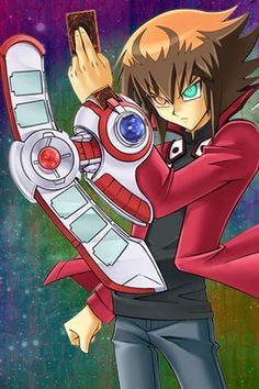 His name is Jaden Yuki! And he's ABSOLUTELY FLAWLESS! ((Lol Yugioh Abridged reference...))