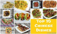 Top 10 Chinese dishes ~ 4 Little Fergusons