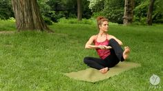 """Beautiful, original """"Anti-cancer Yoga Routine: Cellular Reboot (open level)"""" with moves that merit practicing more than once."""