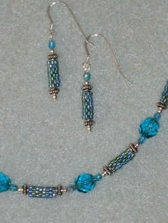 tube bead necklace sets - Google Search