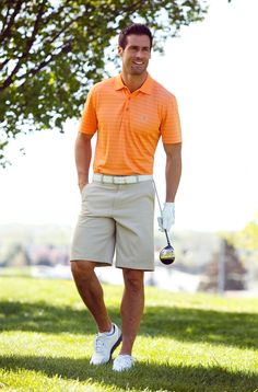 From the course to the clubhouse, these pieces are easy to wear everywhere. (Polo $24.99 and Shorts $24.99) #Gordmans #GreatGuyGiftGuideContest #FathersDay