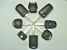Various Kind And Type Of Replacement Car Keys Vauxhall | Picture Of Replacement Car Keys Vauxhall Type