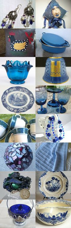 something old, something new, something blue... TeamVintage USA by Liz Drew on Etsy--Pinned with TreasuryPin.com