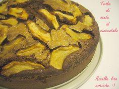 #Torta di #mele al #cioccolato