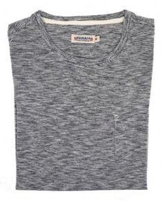 Farah 1920 Men's Radnor Pocket  Stripe T Shirt True Navy