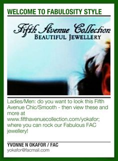 WELCOME TO FABULOSITY STYLE Fifth Avenue Collection, Business, Beautiful, Style, Stylus
