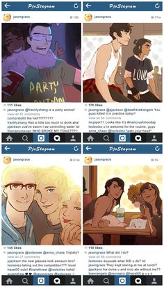 Okay these are kind of weird but I had to pin because of Octavian's comment on the first pic: WHO BROKE MY TOILET