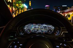 In Las Vegas Audis now talk to traffic lights so you can co