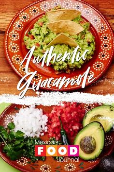 Mexican Guacamole Recipe, Authentic Guacamole Recipe, Best Guacamole Recipe, Fresh Guacamole, Vegan Mexican Recipes, Homemade Guacamole, Avocado Recipes, Authentic Mexican Recipes, Sauces