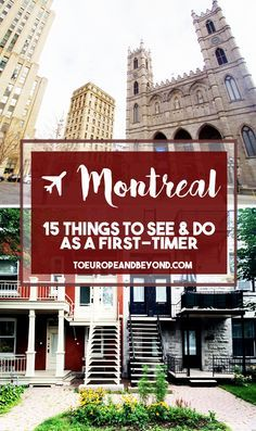 A local recommends 15 things to do in #Montreal for first-time visitors - including where to eat, drink, shop, and more. http://toeuropeandbeyond.com/15-things-to-do-in-montreal/