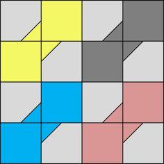 Little Bunny Quilts: QCQAL Block #16 -- Bowtie