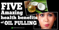In this article, we're going to be looking at the top 5 benefits of oil pulling. Now, if you've never hear about oil pulling then you might already be skeptical at this point. I know...