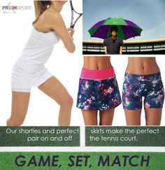 Are you a Serena Williams or Maria Sharapova fan? Watch Wimbledon wearing the perfect match for your tennis game.