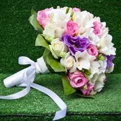 Day Dream Bridal Bouquet - Buy Online in Hartford Flower Shop Wedding Bouquets, Wedding Flowers, White Anemone, Order Flowers, Spray Roses, Cream Roses, Different Flowers, Calla Lily, Rose Petals