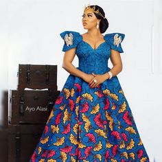 Great Latest African fashion clothing looks Tips 7546571004 African Fashion Ankara, Latest African Fashion Dresses, African Dresses For Women, African Print Fashion, African Attire, African Wear, African Outfits, Africa Fashion, African Style