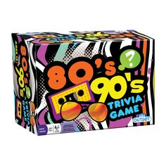 Did you grow up in the 80s or 90s. Do you remember Michael Jackson, Dallas, The Edmonton Oilers, Madonna, or the Rubik's Cube. Then this game is for you. With categories covering movies, music, televi